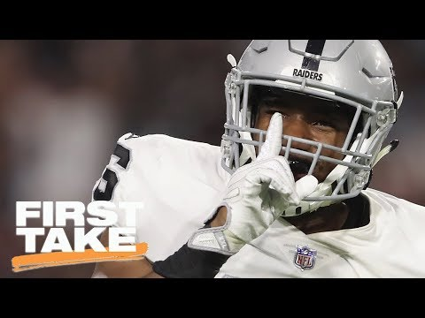 Raiders Receiving Most Bets In Las Vegas To Win Super Bowl LII | First Take | ESPN