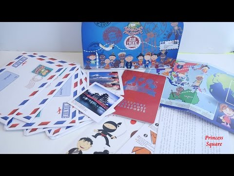 What is Inside the Adventure Passport Geo-Discovery Activity Kit Asia Pacific Edition (2017)
