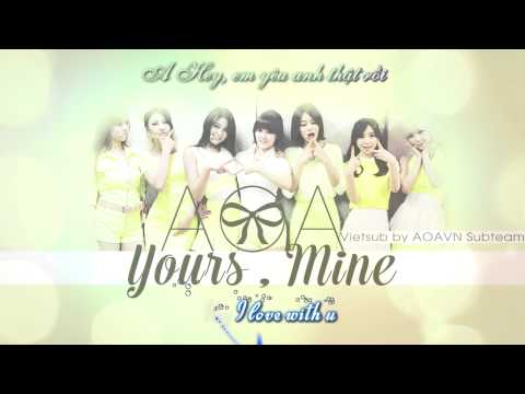 [Vietsub-Kara] AOA- Yours, Mine (AOAVN)