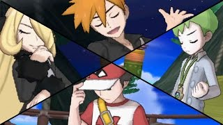 Pokemon Sun & M๐on - All Battle Tree Special Trainers