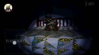 5 ночей с фредди 4 моя реакция! Обзор игры 5 ночей с фредди 4.
