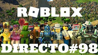 DIRECT//ROBLOX THE GAMES RETOUR JEJE