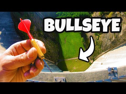 DARTS BULLSEYE from 165m DAM!