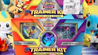 Opening a Pikachu Libre & Suicune Trainer Kit! | Pokemon Cards