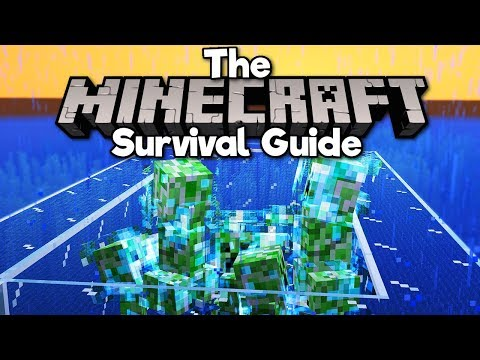Charged Creeper Farm! ▫ The Minecraft Survival Guide (Tutorial Let's Play) [Part 261] thumbnail