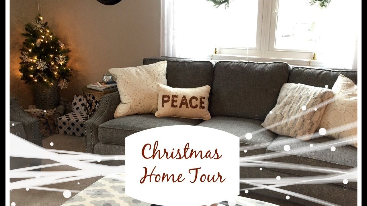 Christmas Home Decor Tour 2016 Lynette Yoder Youtube