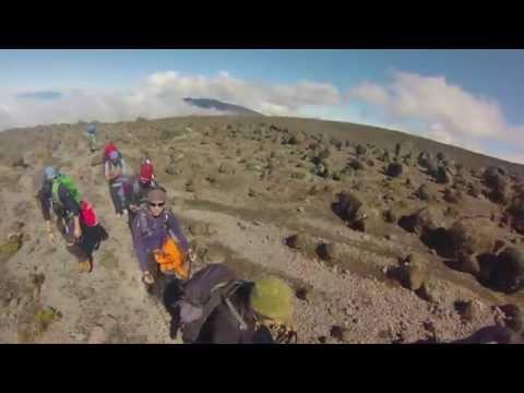 Kilimanjaro Machame Route 2014