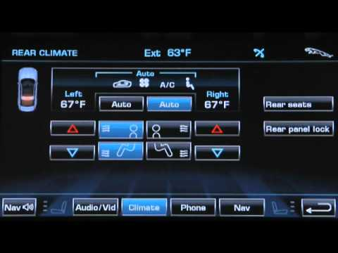 2012 Jaguar XJ - How to use the Climate Controls