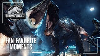 Fan-Favorite Moments From The Jurassic Movies | Jurassic World