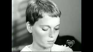 Peyton Place - Mia Farrow haircut (February 15, 1966)