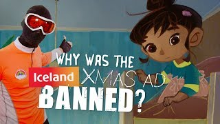 Why was the Iceland Xmas ad banned?