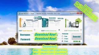 NOD32 Antivirus 6 Smart Mobile Security Generator 2013 4.0v Android 2014