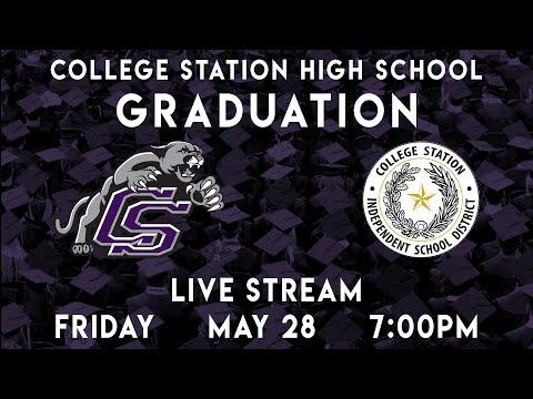 College Station High School Graduation 2021 - 8:30am