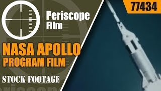 NASA APOLLO PROGRAM FILM  TESTING APOLLO SPACECRAFT SYSTEMS  77434