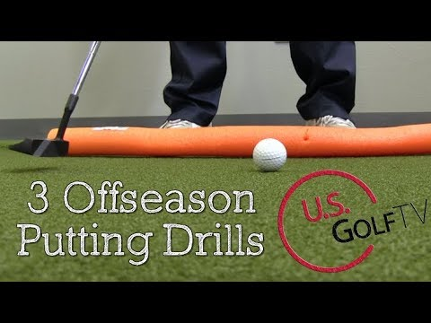 3 Awesome Golf Putting Drills for the Offseason