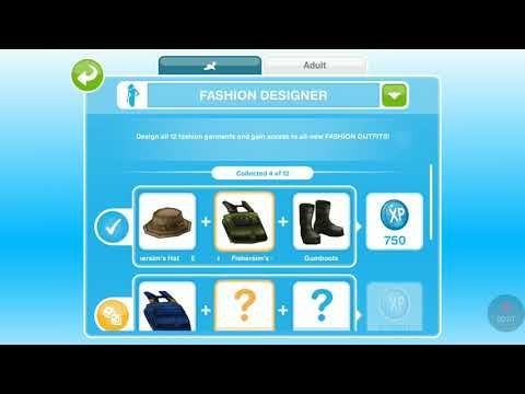 Sims Freeplay How To Be Fashion Designer Youtube