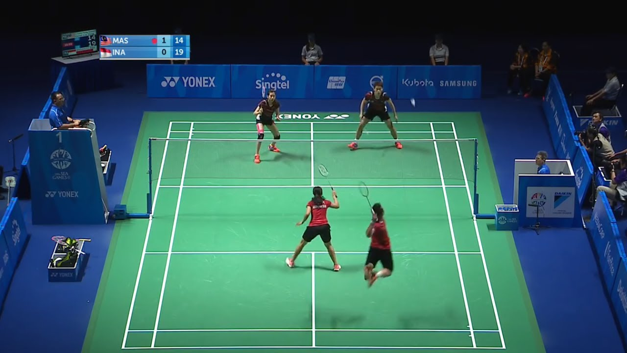 SMASH is the Best way to win in Thrilling Match | Riky Widianto/ Puspita Richi Dili vs Chan/ Goh