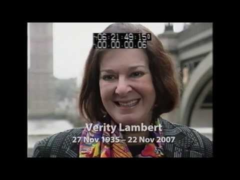 Verity Lambert - in her own words...