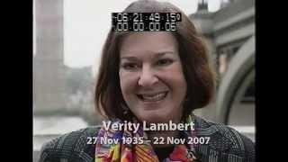 Verity Lambert - in her own words...