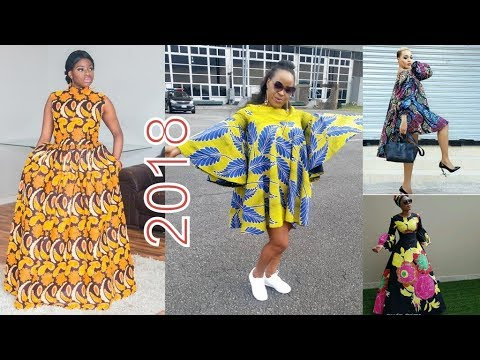 African Maxi Dress Styles : Elegant African Maxi Dresses Collection