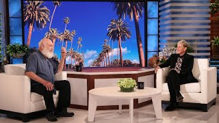 Ellen Learns a Relaxing Breathwork Technique from Dr. Andrew Weil