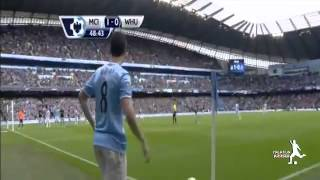 Manchester City 2x0 West Ham United - All Goals - 11/05/14 HD