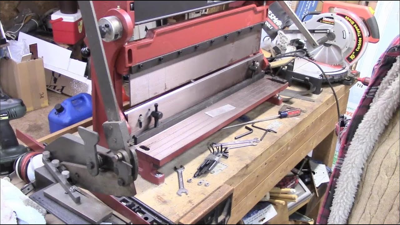 Combination Shear Brake Roll : Combination shear press brake and slip roll first look