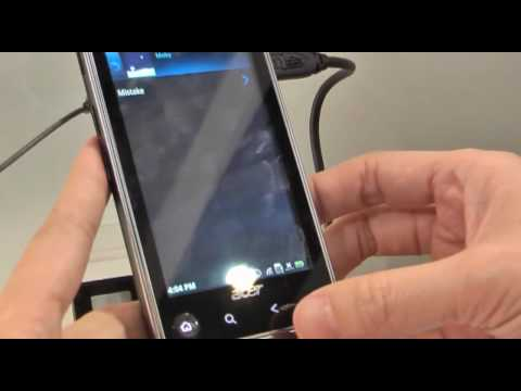【COMPUTEX 2010】Android Smartphone 「Acer Stream」Demo