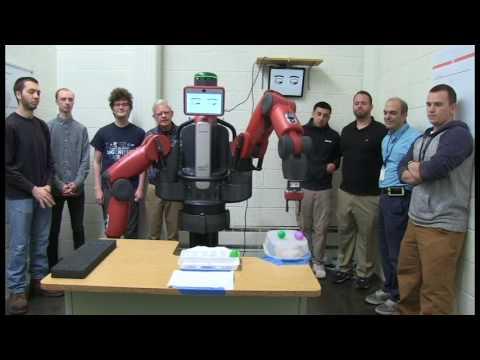 "Cape Cod Community College ""Baxter"" Robotics Class Project"