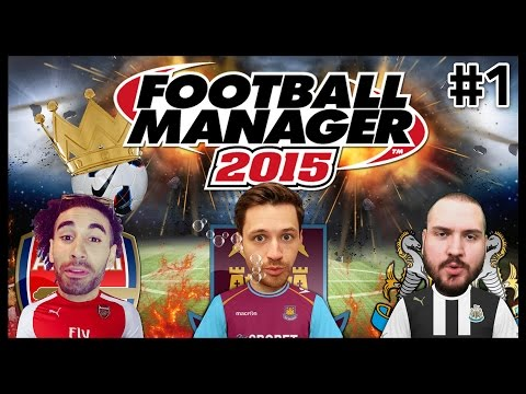 FOOTBALL MANAGER 2015 WITH HUGH WIZZY & TRUE GEORDIE