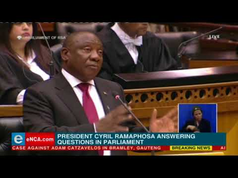 Malema asks Ramaphosa on land expropriation without compensation
