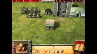 Stronghold 2 Deluxe Gameplay