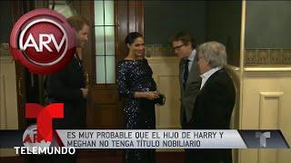 Lo último del bebé de Meghan Markle y el príncipe Harry | Al Rojo Vivo | Telemundo