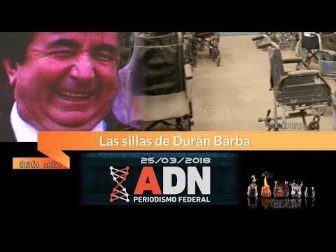 Las sillas de Duran Baba  ADN ( I ) 25...