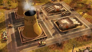 Chinese Nuclear Power Plant ATTACKED by Rebel Army | Command & Conquer Generals Zero Hour Gameplay
