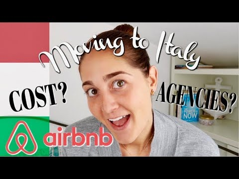 HOW TO MOVE TO ITALY & RENT AN APARTMENT