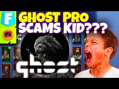 Fortnite News | Ghost Gaming Pro Accused of Scamming a Kid