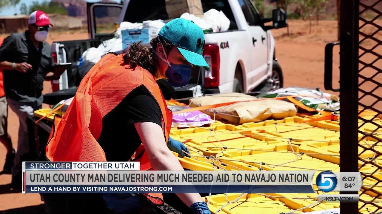 Navajo Strong Project Helping Get Supplies To Hundreds In Navajo Nation Youtube