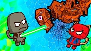 ИГРА как мультик - Ударный отряд котят 2 - Strike force kitty 2 - Для Детей - часть #9