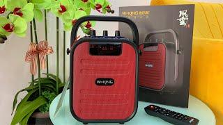 W-King T5 mini - Loa Hát Karaoke Xách Tay Nhỏ Gọn Công Suất 15W