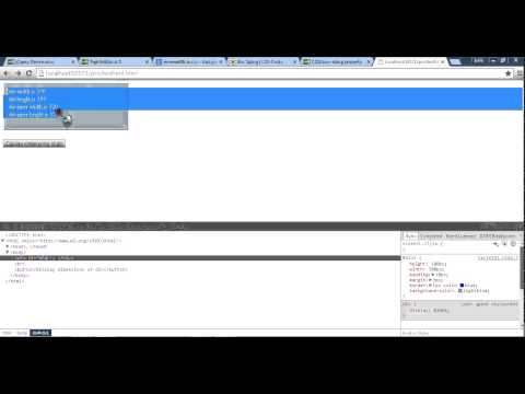 How To Get Inner Width And Height Of A  Div Element Using Jquery