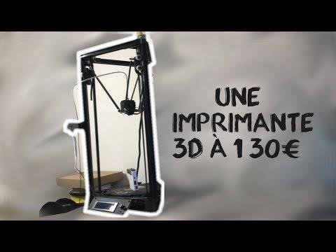 UNE IMPRIMANTE 3D A 130€, LA BONNE AFFAIRE ?
