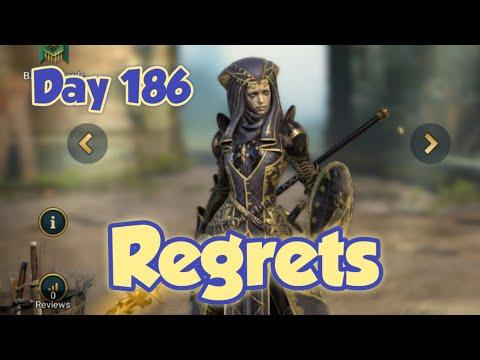 Raid Shadow Legends Day 186: I regret upgrading Ursala the Mourner