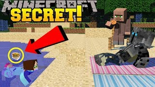 Minecraft: CAN YOU SPOT THE BUTTON IN THE WATER?!? - FIND THE BUTTON DISASTERS - Custom Map
