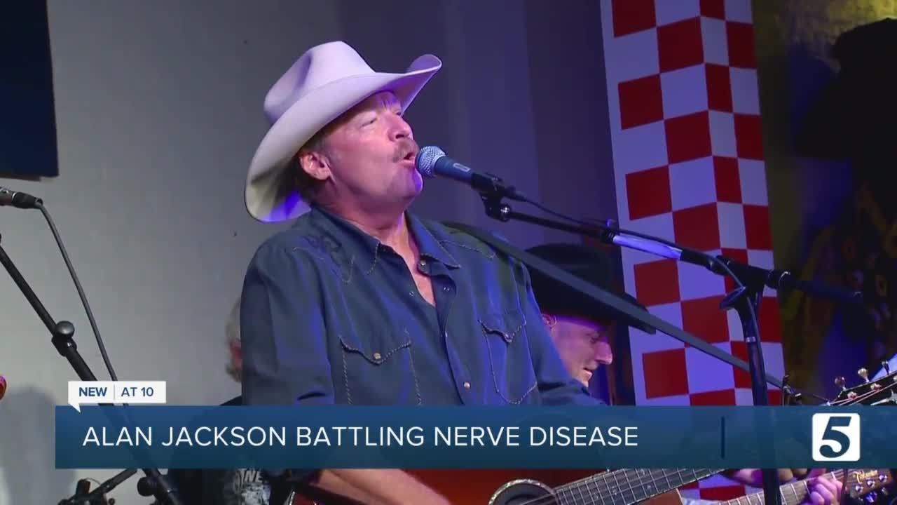 Alan Jackson Reveals He Has A Nerve Condition Affecting His ...