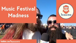 Jesus goes to a music festival Just Like Heaven 2019
