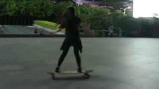 longboard dancing night so can you   funing 2017 hd