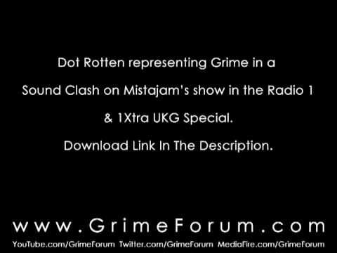 Dot Rotten (Lemonade Freestyle) - Mistajam - Grime Round 3 - BBC Radio 1/1Xtra