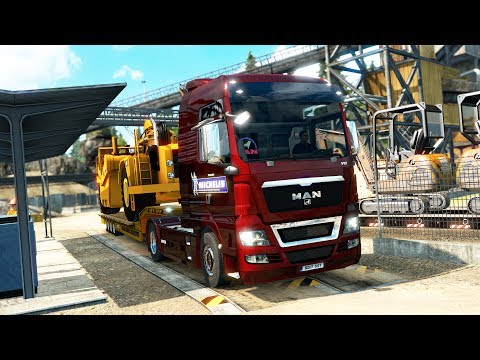 Euro Truck Simulator 2 - Sweden to Germany in an MAN - Timelapse #88