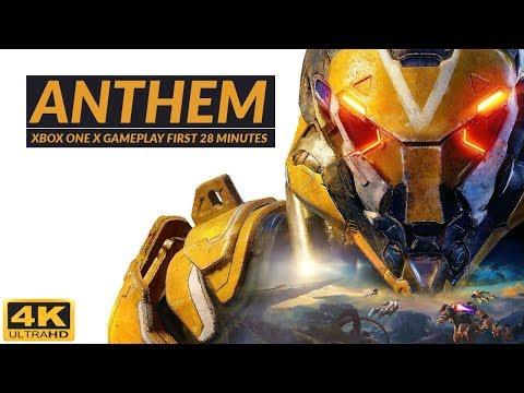 Anthem™ Xbox One X 4k Gameplay Footage